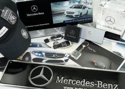 mercedes benz promo items