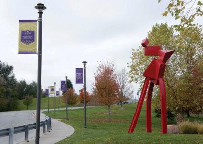 bellevue university boulevard banners
