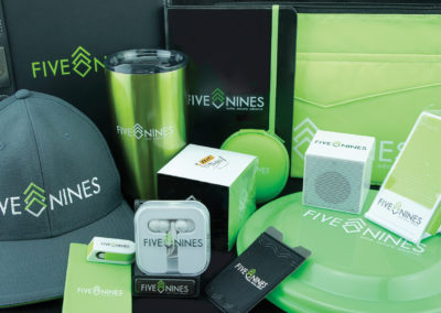 five nines promo items