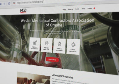 m c a website