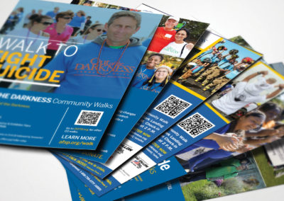 walk to prevent suicide flyers