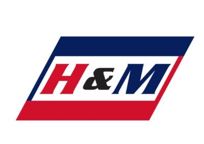 h and m trucking short logo