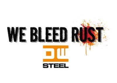 we bleed rust logo